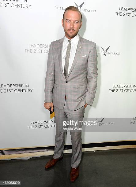 Singer/Songwriter Matt Goss attends The Lourdes Foundation Leadership in the 21st Century Event with His Holiness the 14th Dalai Lama at the...