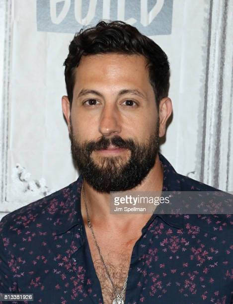 Singer/songwriter Matthew Ramsey of Old Dominion attends Build to discuss the Band's new album 'Happy Endings' at Build Studio on July 12 2017 in New...