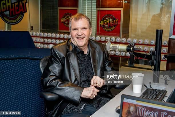 Singersongwriter Meat Loaf visits SiriusXM Studios on August 21 2019 in New York City