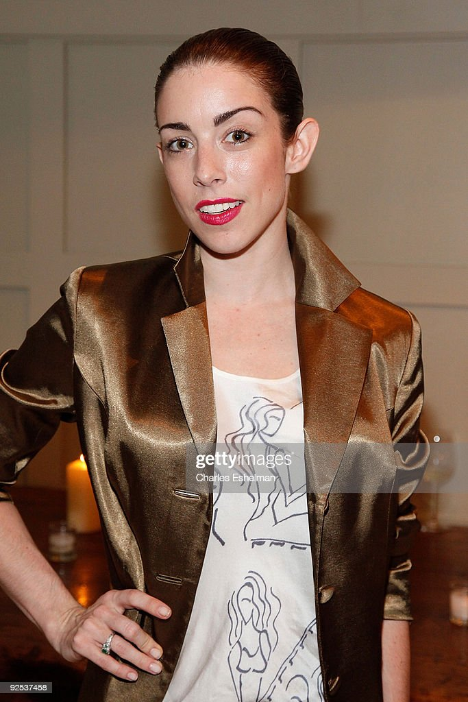 Singer/songwriter Megan Walsh attends the Domenico Vacca Spring 2010 presentation at the Soho House on September 12, 2009 in New York City.