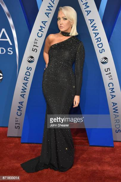 Singersongwriter Meghan Linsey attends the 51st annual CMA Awards at the Bridgestone Arena on November 8 2017 in Nashville Tennessee