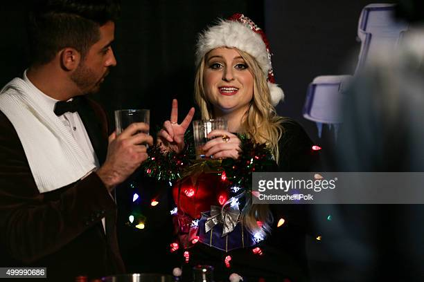 Singersongwriter Meghan Trainor attends 1027 KIIS FM's Jingle Ball 2015 Presented by Capital One at STAPLES CENTER on December 4 2015 in Los Angeles...