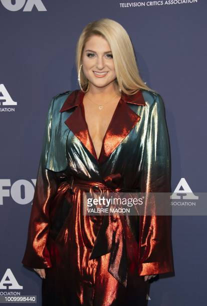 Singer/Songwriter Meghan Trainor attends the FOX Summer TCA 2018 AllStar Party on August 2 in West Hollywood California
