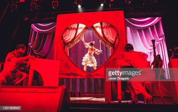 Singersongwriter Melanie Martinez performs on stage at Wizink Center on January 22 2020 in Madrid Spain