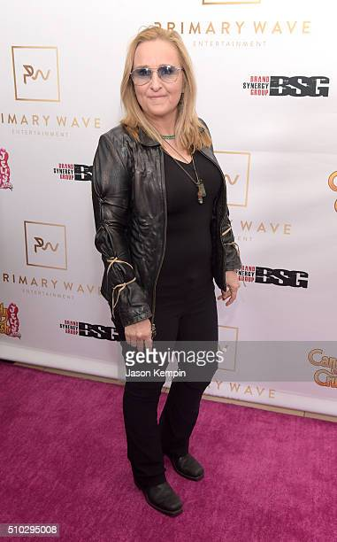 Singer/songwriter Melissa Etheridge attends the Primary Wave 10th Annual PreGrammy Party at The London West Hollywood on February 14 2016 in West...