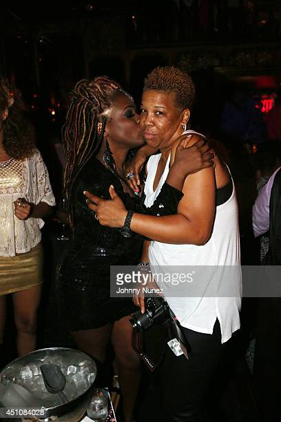 Singersongwriter Melky Jean and photographer Rowena Husbands attend The Carma Foundation's 7th Annual Geminis Give Back event at The Griffin on June...