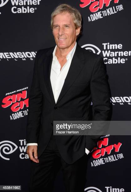 Singer/songwriter Michael Bolton attends Premiere of Dimension Films' 'Sin City A Dame To Kill For' at TCL Chinese Theatre on August 19 2014 in...