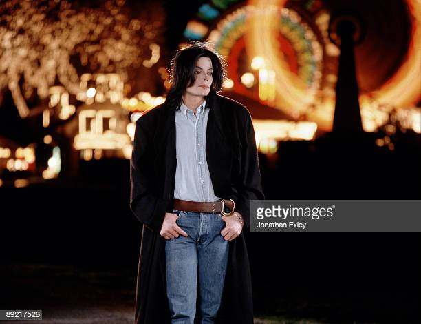Singer/Songwriter Michael Jackson photographed at Neverland Ranch for Vibe Magazine on December 17 2001