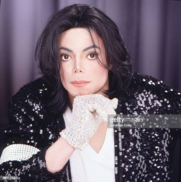 Singer/Songwriter Michael Jackson photographed in Los Angeles for Vibe Magazine on December 17 2001