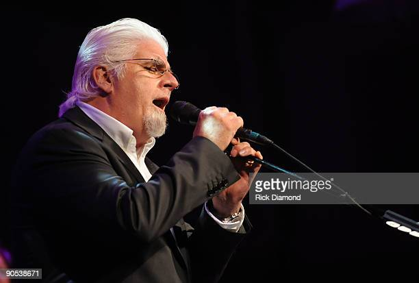 Singer/Songwriter Michael McDonald performs at the GRAMMY salute to Country Music honoring Vince Gill hosted by The Recording Academy at The Loveless...