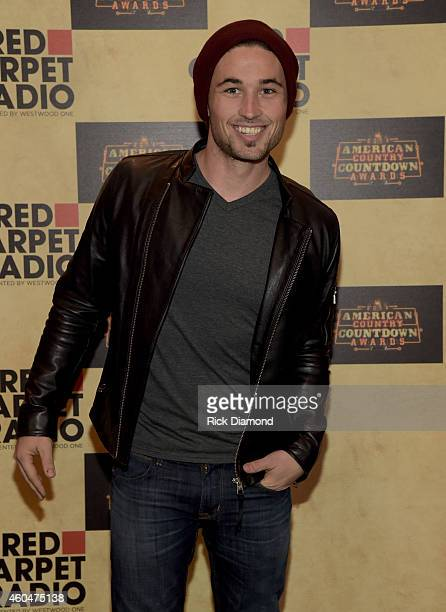 Singer/Songwriter Michael Ray attends Red Carpet Radio Presented By Westwood One For The American County Countdown Awards at the Music City Center on...