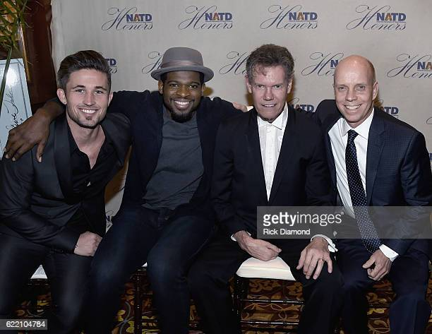 Singer/Songwriter Michael Ray Honoree NHL Nashville Predators PK Subban Honoree Singer/Songwriter Randy Travis and Olympian Gold Medalist Scott...
