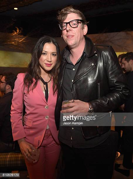 Singer-songwriter Michelle Branch and musician Patrick Carney of The Black Keys attend Universal Music Group 2016 Grammy After Party presented by...