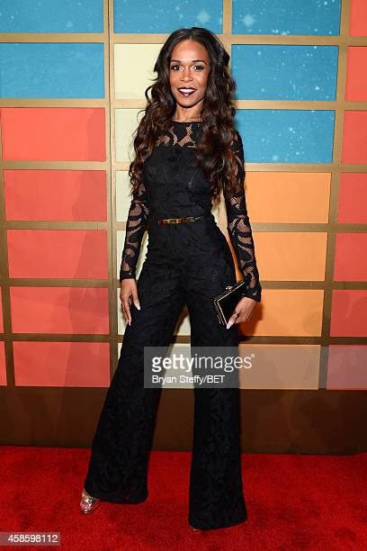Singersongwriter Michelle Williams attends the 2014 Soul Train Music Awards at the Orleans Arena on November 7 2014 in Las Vegas Nevada