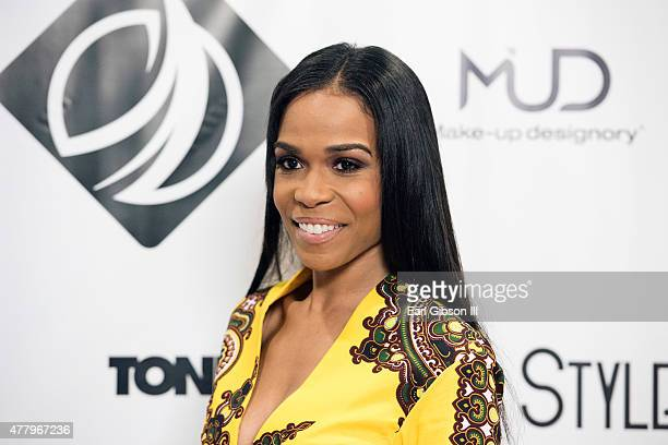 Singer/Songwriter Michelle Williams attends the Style Africa Gala And Runway Show at California Market Center on June 20 2015 in Los Angeles...