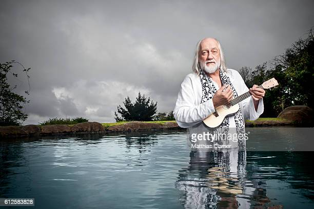 Singer/songwriter Mick Fleetwood is photographed for Playboy Magazine on December 14 2011 on Maui