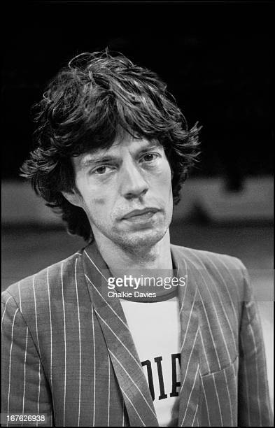 Singersongwriter Mick Jagger of The Rolling Stones at the Superdome New Orleans 1978