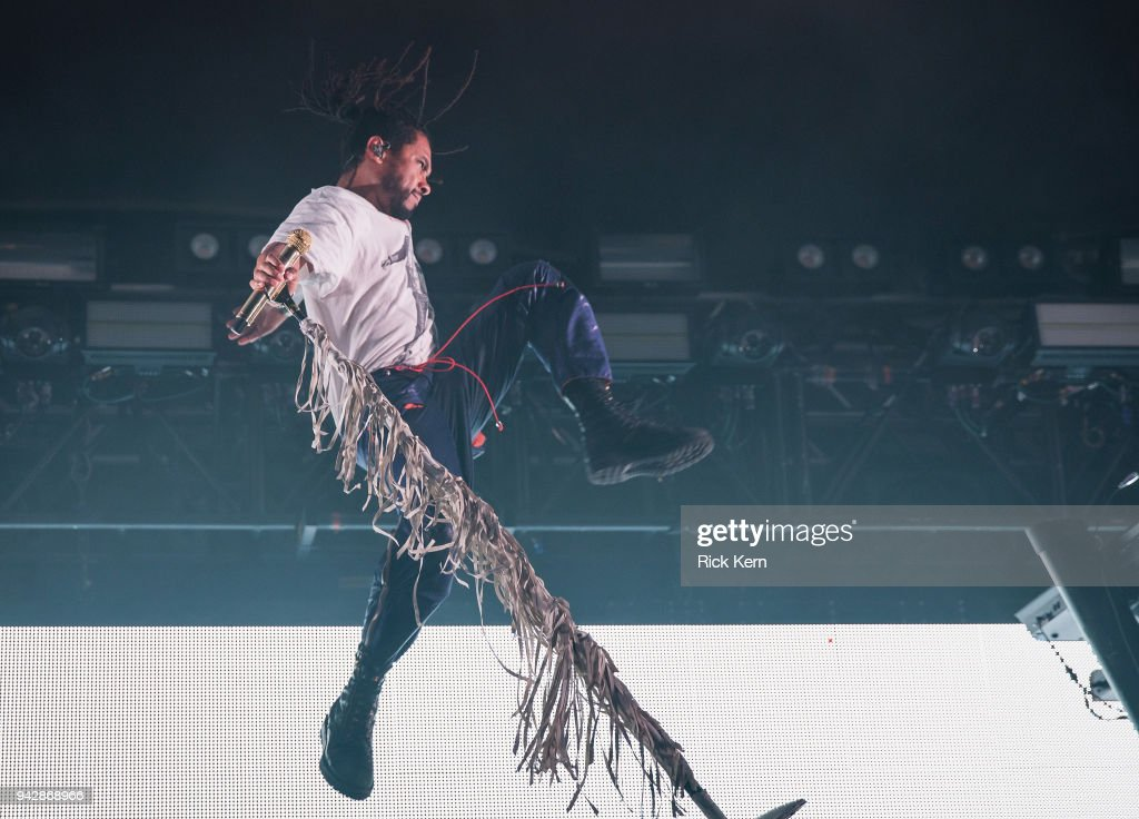 Miguel Performs At Stubb's