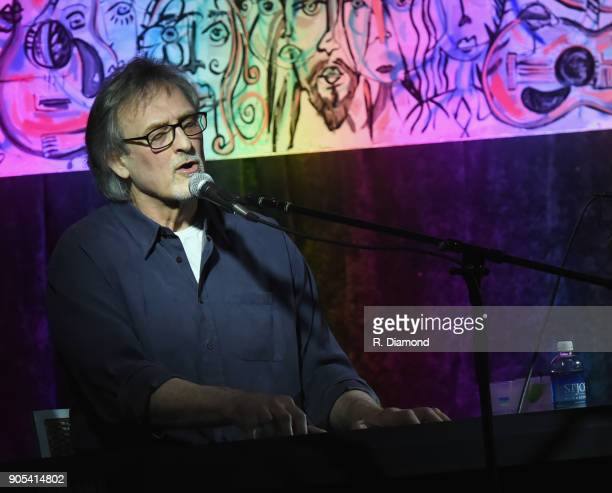 Singer/Songwriter Mike Reid performs during the ASCAP Showcase at The Lakehouse during the 9th Annual 30A Songwriters Festival Day 3 on January 14...