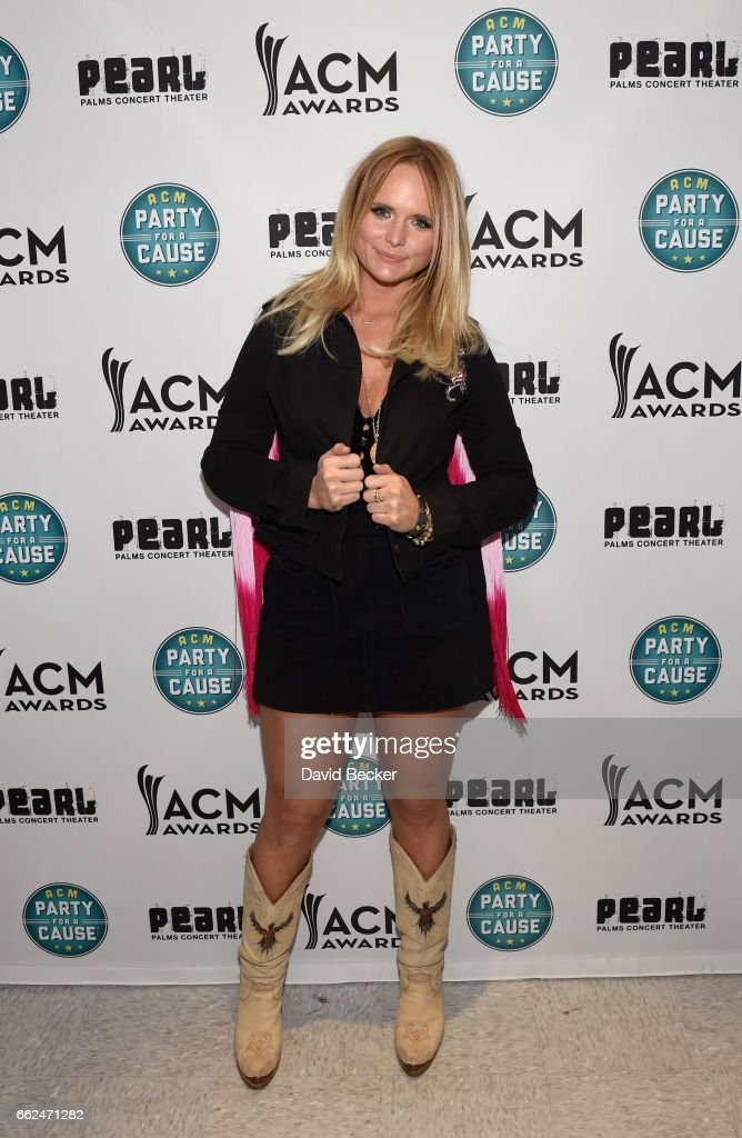Singer-songwriter Miranda Lambert at the ACM Party For A Cause: Songwriter Showcase on March 31, 2017 in Las Vegas, Nevada.