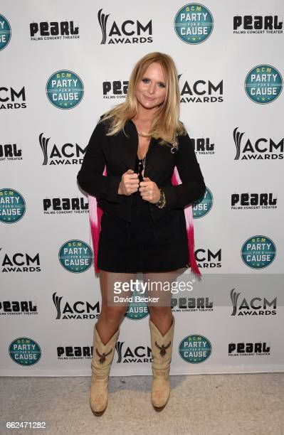 Singersongwriter Miranda Lambert at the ACM Party For A Cause Songwriter Showcase on March 31 2017 in Las Vegas Nevada