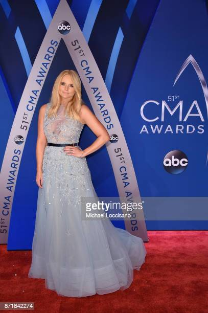 Singersongwriter Miranda Lambert attends the 51st annual CMA Awards at the Bridgestone Arena on November 8 2017 in Nashville Tennessee