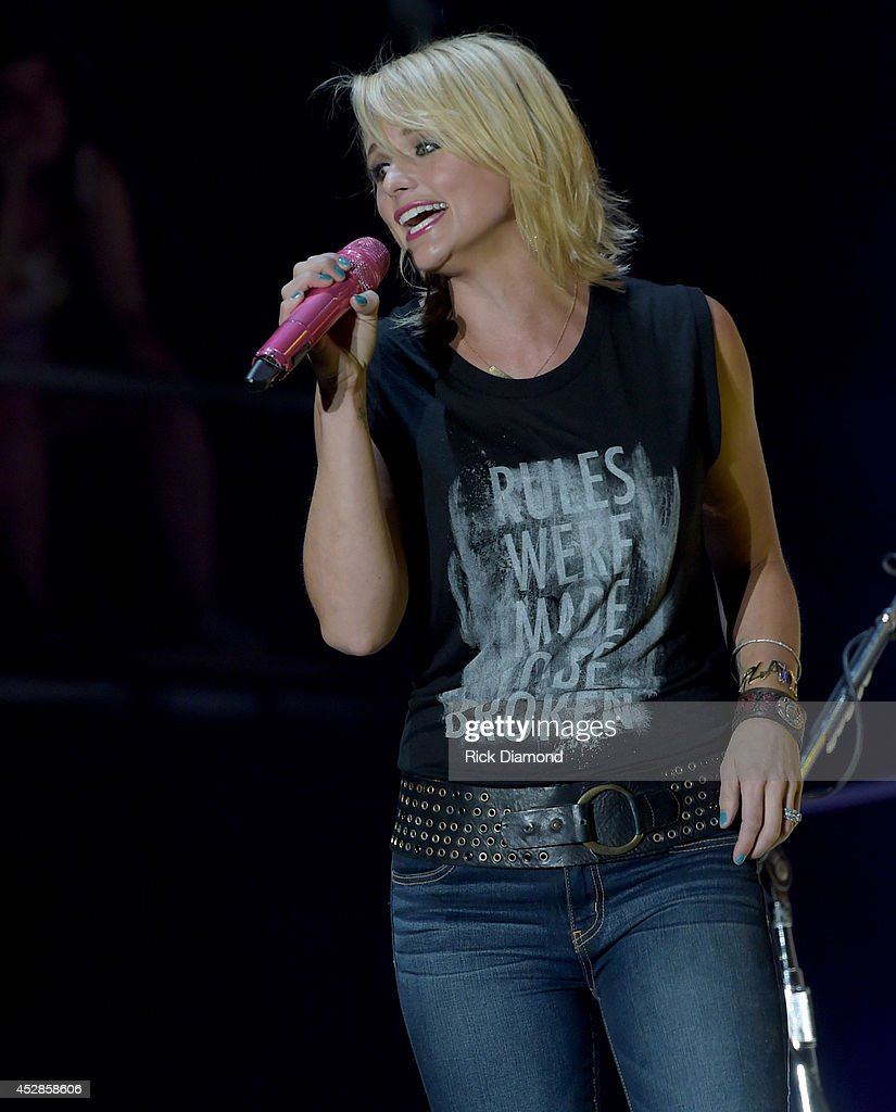 Singer/Songwriter Miranda Lambert headlines Country Thunder USA - Day 2 on July 25, 2014 in Twin Lakes, Wisconsin.