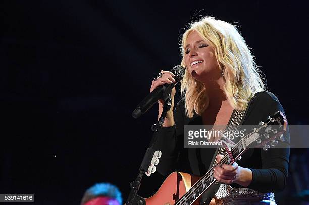 Singersongwriter Miranda Lambert performs onstage during 2016 CMA Festival Day 1 at Nissan Stadium on June 9 2016 in Nashville Tennessee