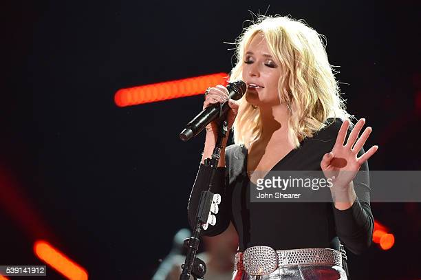 Singer-songwriter Miranda Lambert performs onstage during 2016 CMA Festival - Day 1 at Nissan Stadium on June 9, 2016 in Nashville, Tennessee.
