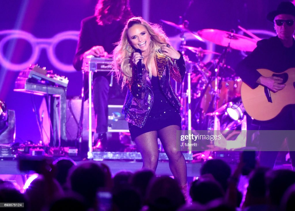 Singer-songwriter Miranda Lambert performs onstage during the 2017 CMT Music Awards at the Music City Center on June 7, 2017 in Nashville, Tennessee.