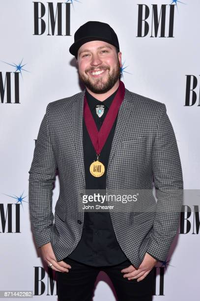 Singersongwriter Mitchell Tenpenny attends the 65th Annual BMI Country Awards at BMI on November 7 2017 in Nashville Tennessee