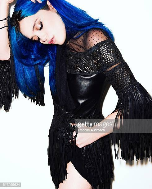 Singersongwriter model and actress Sky Ferreira is photographed for Numero on July 1 2015 in Los Angeles California