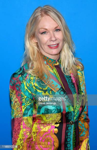 """Singer-songwriter Nancy Wilson attends the """"I Want My MTV"""" Gala Screening at the Napa Valley Film Festival at Lincoln Theatre on November 16, 2019 in..."""