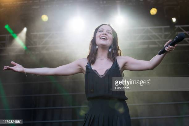 Singer-songwriter Natalia Lafourcade performs onstage during weekend one, day two of Austin City Limits Music Festival at Zilker Park on October 04,...