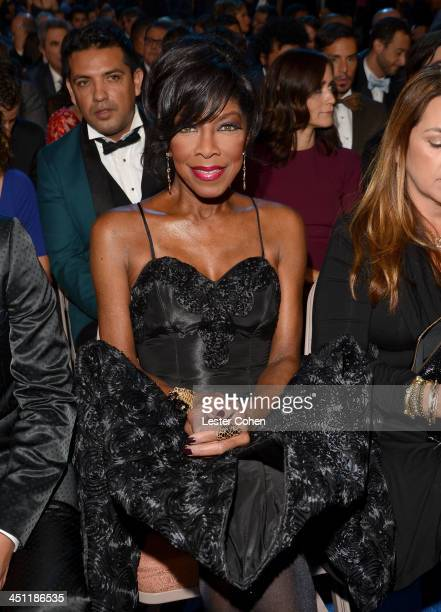 Singer/songwriter Natalie Cole attends The 14th Annual Latin GRAMMY Awards at the Mandalay Bay Events Center on November 21 2013 in Las Vegas Nevada