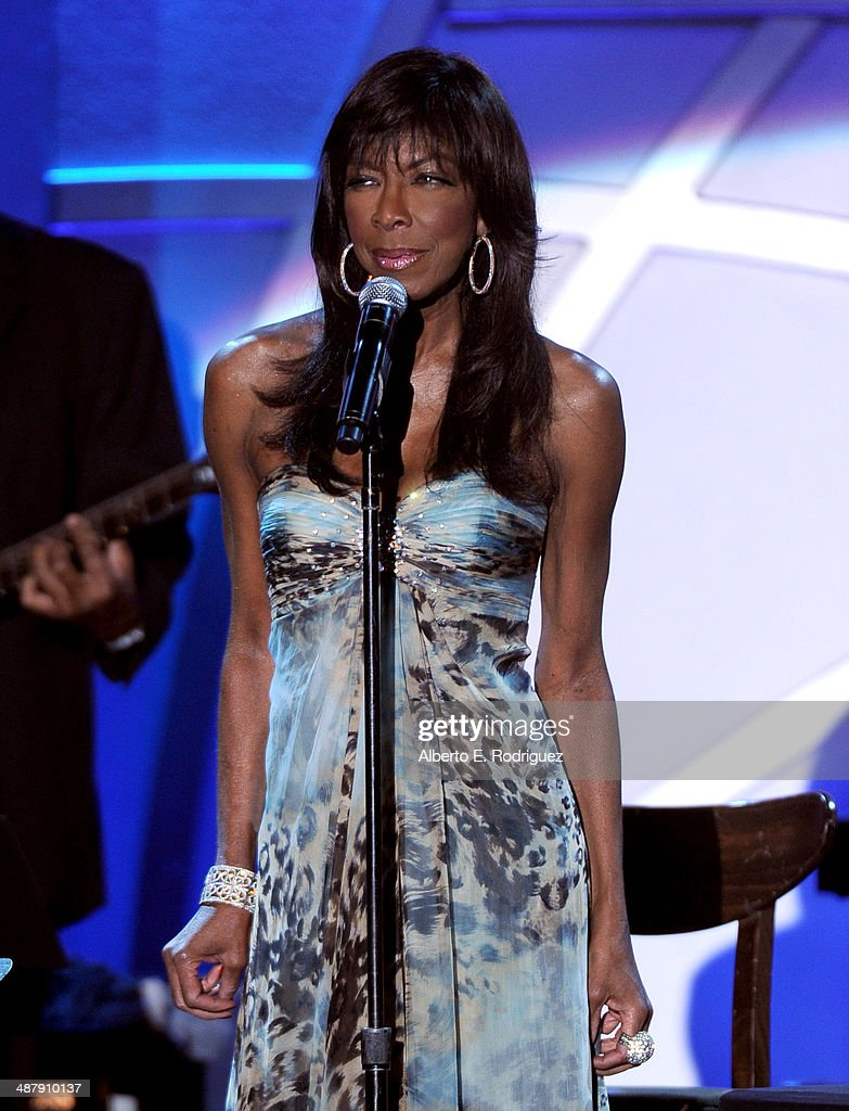 Singer/songwriter Natalie Cole performs onstage during the 21st annual Race to Erase MS at the Hyatt Regency Century Plaza on May 2, 2014 in Century City, California.