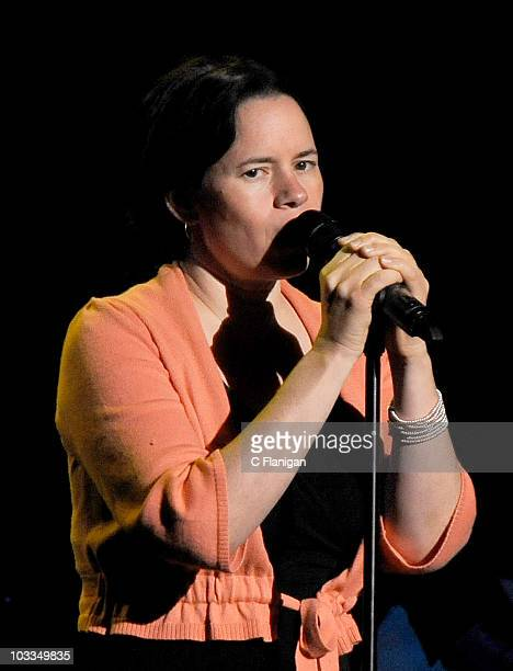 Singer/songwriter Natalie Merchant performs at The Fox Theatre on August 11 2010 in Oakland California