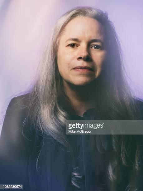 Singer/songwriter Natalie Merchant poses for a portrait at Hudson Valley Votes on October 20 2018 in Kingston New York
