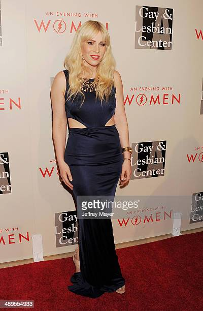 Singer/songwriter Natasha Bedingfield arrives at the 2014 An Evening With Women Benefiting LA Gay Lesbian Center at the Beverly Hilton Hotel on May...
