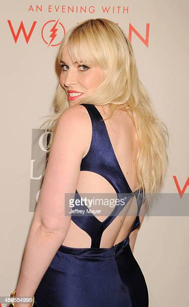 Singer/songwriter Natasha Bedingfield arrives at the 2014 'An Evening With Women' Benefiting LA Gay Lesbian Center at the Beverly Hilton Hotel on May...