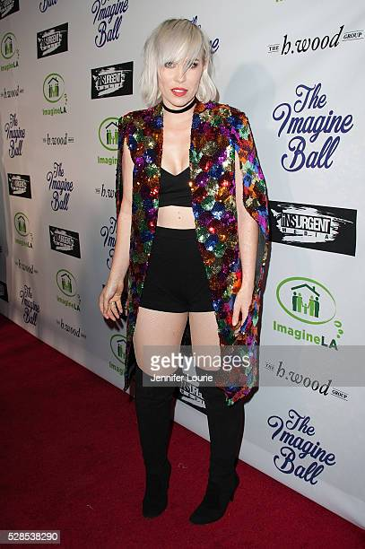 Singersongwriter Natasha Bedingfield arrives at the 3rd Annual Imagine Ball Benefit Concert on May 05 2016 in West Hollywood California