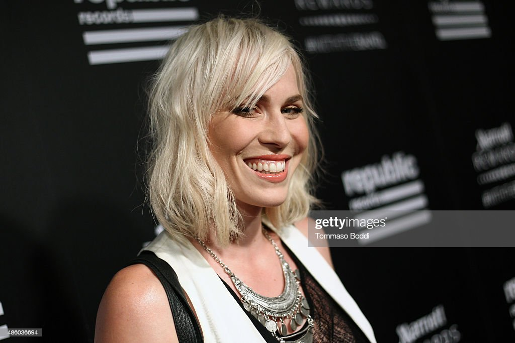 Singer/Songwriter Natasha Bedingfield attends Republic Records 2015 VMA after party at Ysabel on August 30, 2015 in West Hollywood, California.