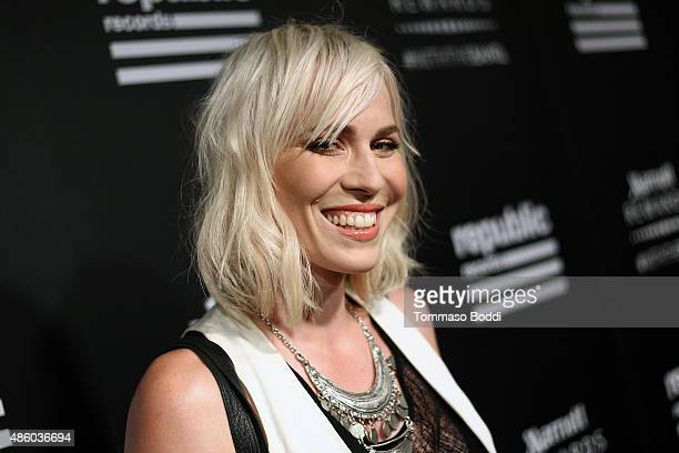 Singer/Songwriter Natasha Bedingfield attends Republic Records 2015 VMA after party at Ysabel on August 30 2015 in West Hollywood California