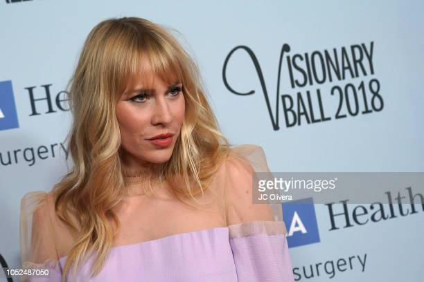 Singer/songwriter Natasha Bedingfield attends the 2018 Visionary Ball benefiting the UCLA department of neurosurgery at The Beverly Hilton Hotel on...