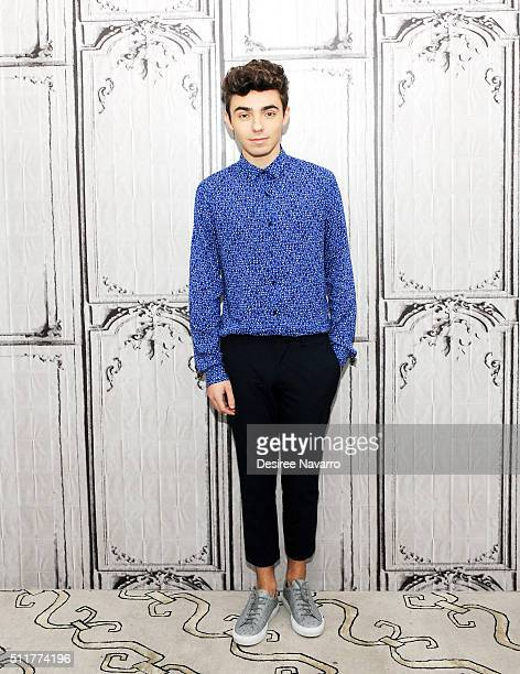 Singersongwriter Nathan Sykes of the British boy band The Wanted attends AOL Build Speaker Series to talk about his career as a solo artist and his...