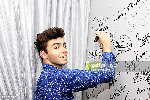 Singersongwriter Nathan Sykes of the British boy band The Wanted talks about his career as a solo artist and his new single 'Over and Over Again'...