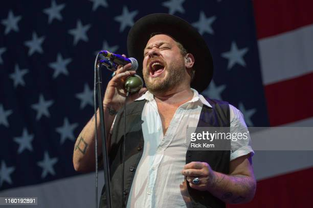 Singer-songwriter Nathaniel Rateliff of Nathaniel Rateliff & The Night Sweats performs onstage during the 46th Annual Willie Nelson 4th of July...