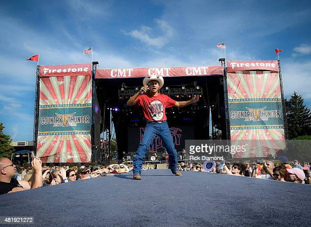Singer/Songwriter Neal McCoyperforms at Country Thunder Day 2 In Twin Lakes Wisconsin on July 23 2015 in Twin Lakes Wisconsin performs at