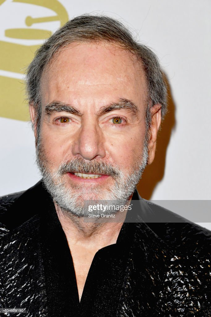 Singer-songwriter Neil Diamond attends Pre-GRAMMY Gala and Salute to Industry Icons Honoring Debra Lee at The Beverly Hilton on February 11, 2017 in Los Angeles, California.