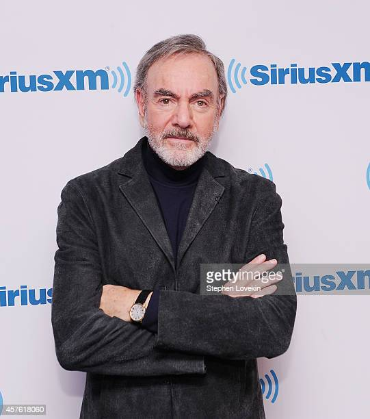 Singer/songwriter Neil Diamond attends SiriusXM's Town Hall With Neil Diamond Hosted By Cousin Brucie On SiriusXM's Neil Diamond Radio at SiriusXM...
